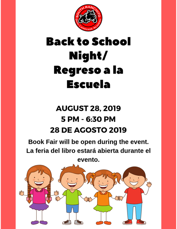 Back to School/ Regreso a la escuela