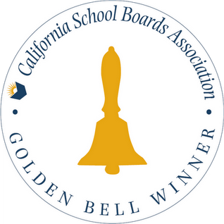 California Golden Bell Award logo