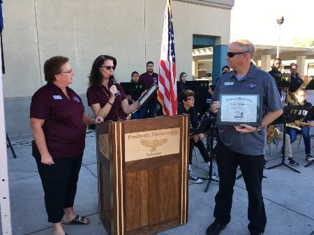 Recognition of Original Staff Members still Teaching at Fruitvale