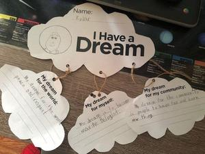 Kylar's I Have a Dream Activity