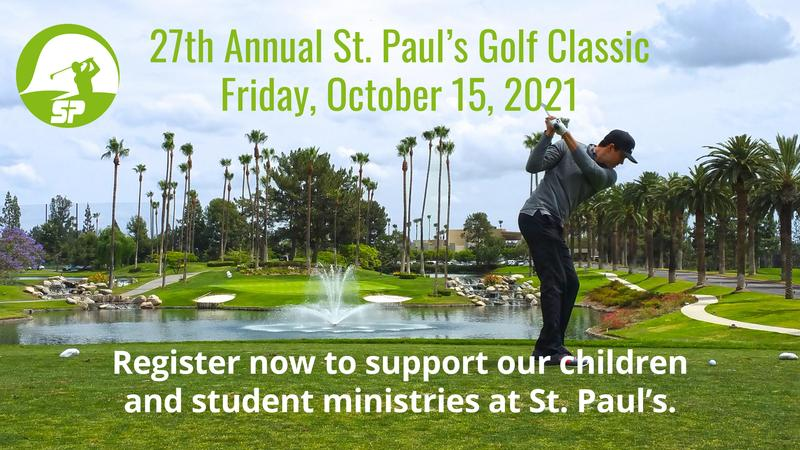 Register Now for the 2021 St. Paul's Golf Classic! Featured Photo