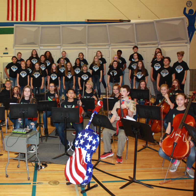 CMS musical groups
