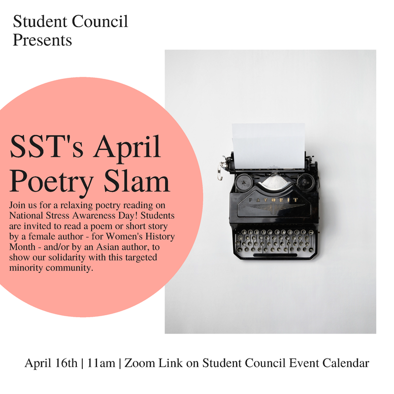 SST April Poetry Slam Featured Photo