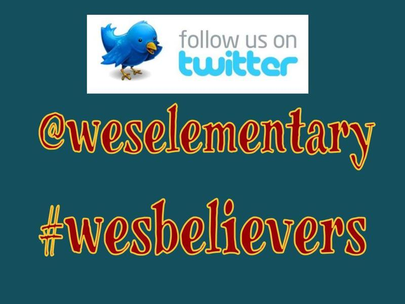 @weselementary #wesbelievers twitter icon