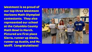 Westmont Math Olympiads