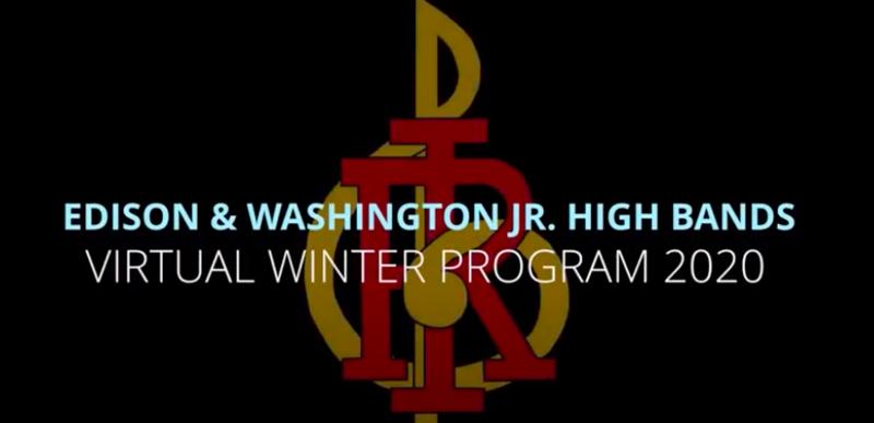 RIMSD Jr. High Virtual Winter Band Program Featured Photo