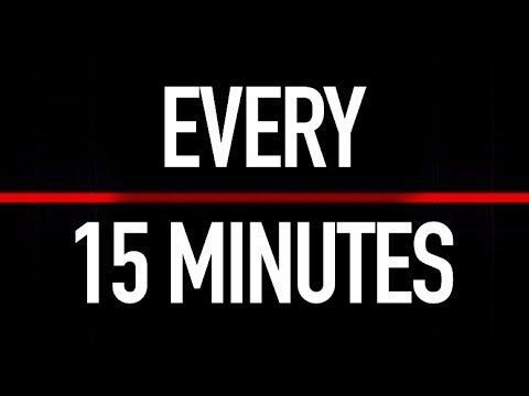 Every 15 Minutes Graphic
