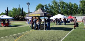 Calaveras High School on the right track event