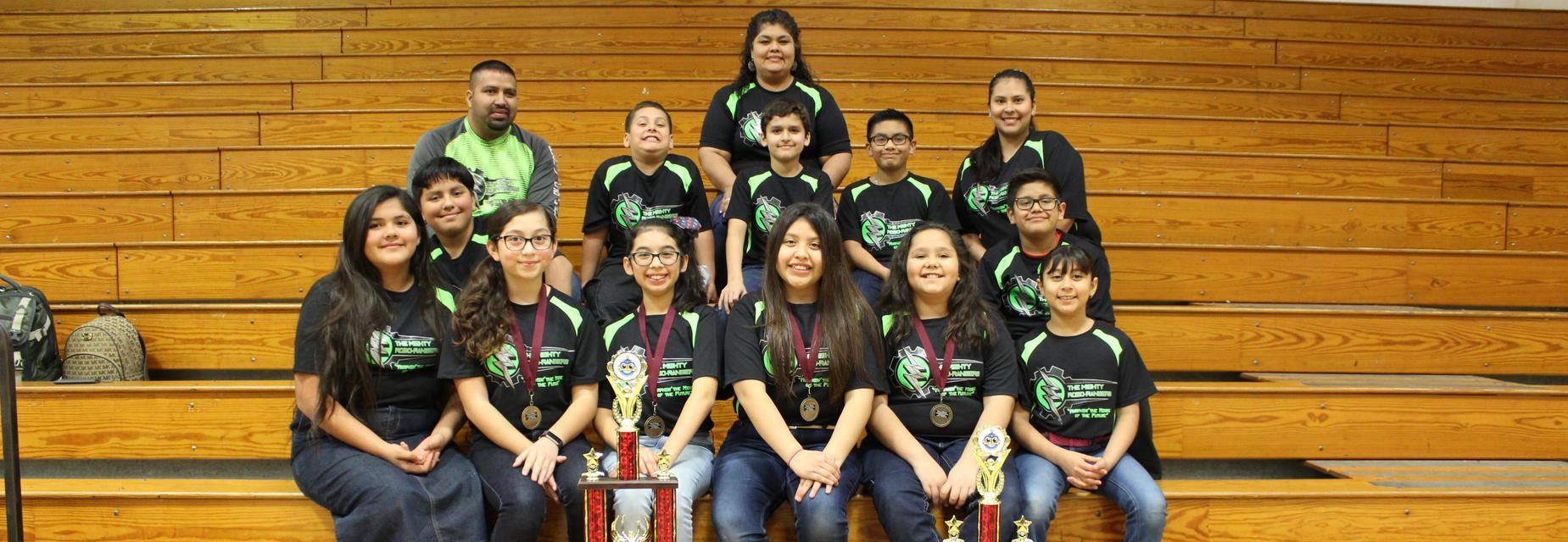 Robo Rangers Challengers team