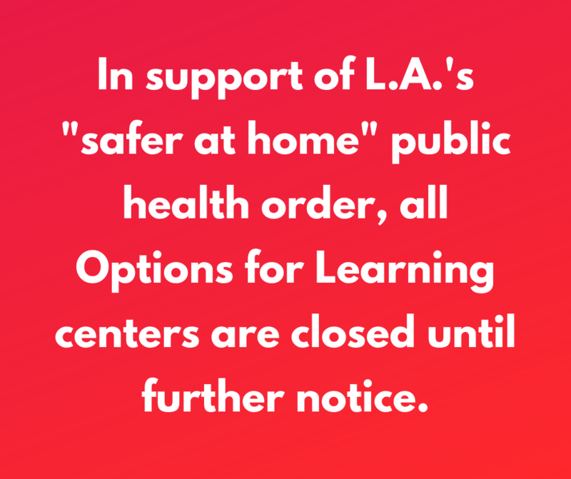 All Options for Learning centers are closed until further notice Featured Photo
