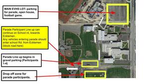 Parade Route and Parking Information