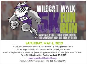 Duluth High School 5K 2019 Flyer.png