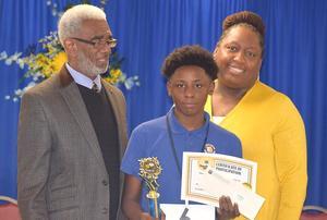 Natchez-Adams School District Spelling Bee Winner
