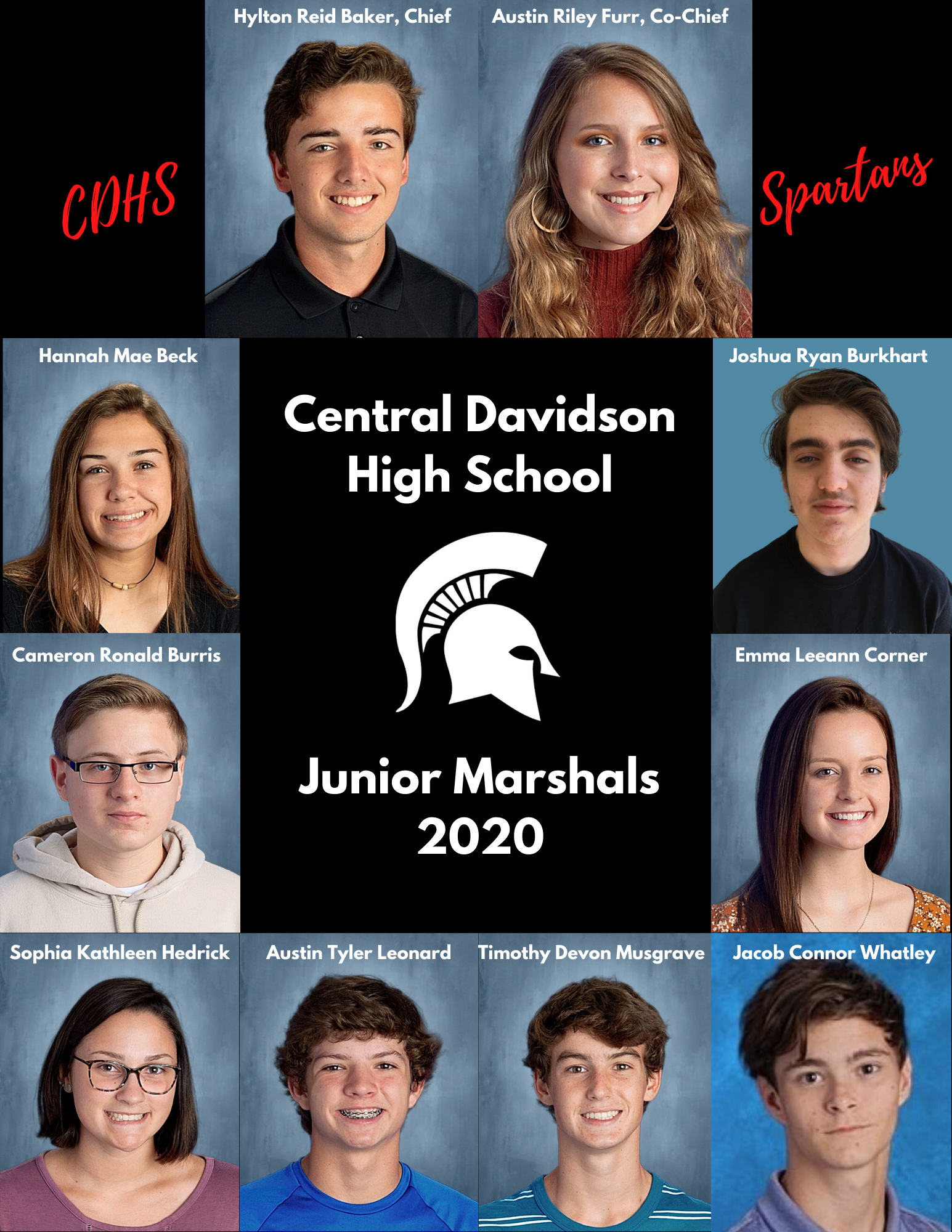 2020 Junior Marshals Group Picture