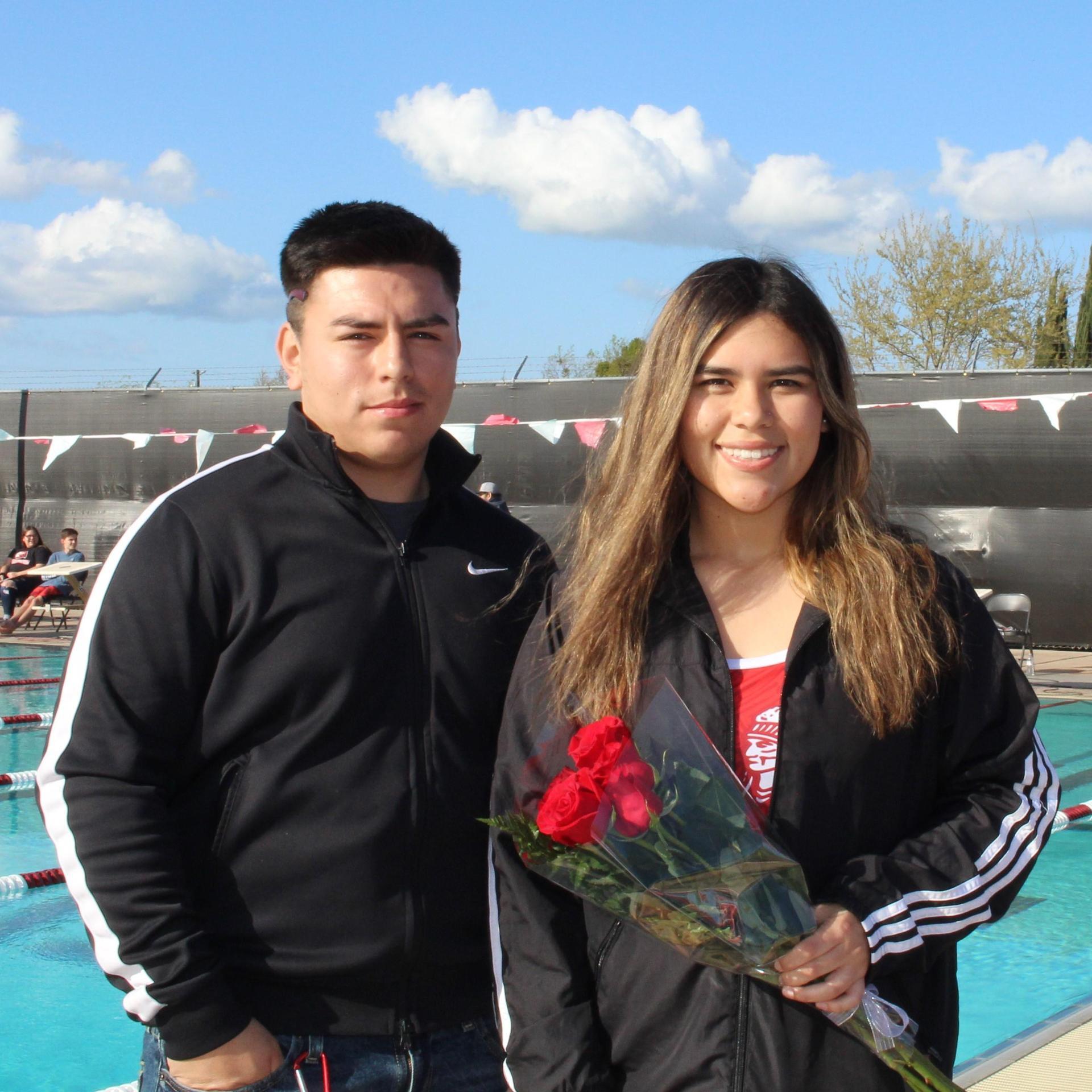 Yaritza Padilla and escort