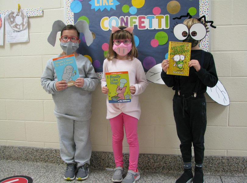 Book Character Dress Up Day at Friendship- Book Fair 2020
