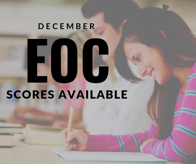 December EOC Scores Featured Photo