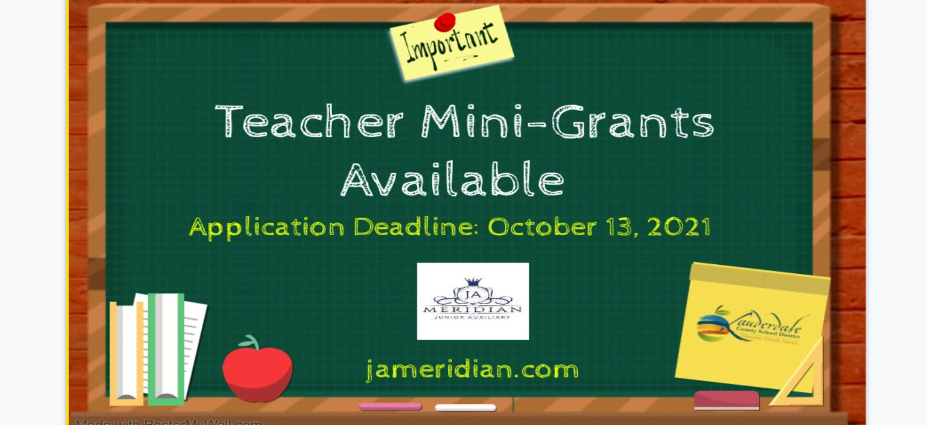 JA Mini Grant Information