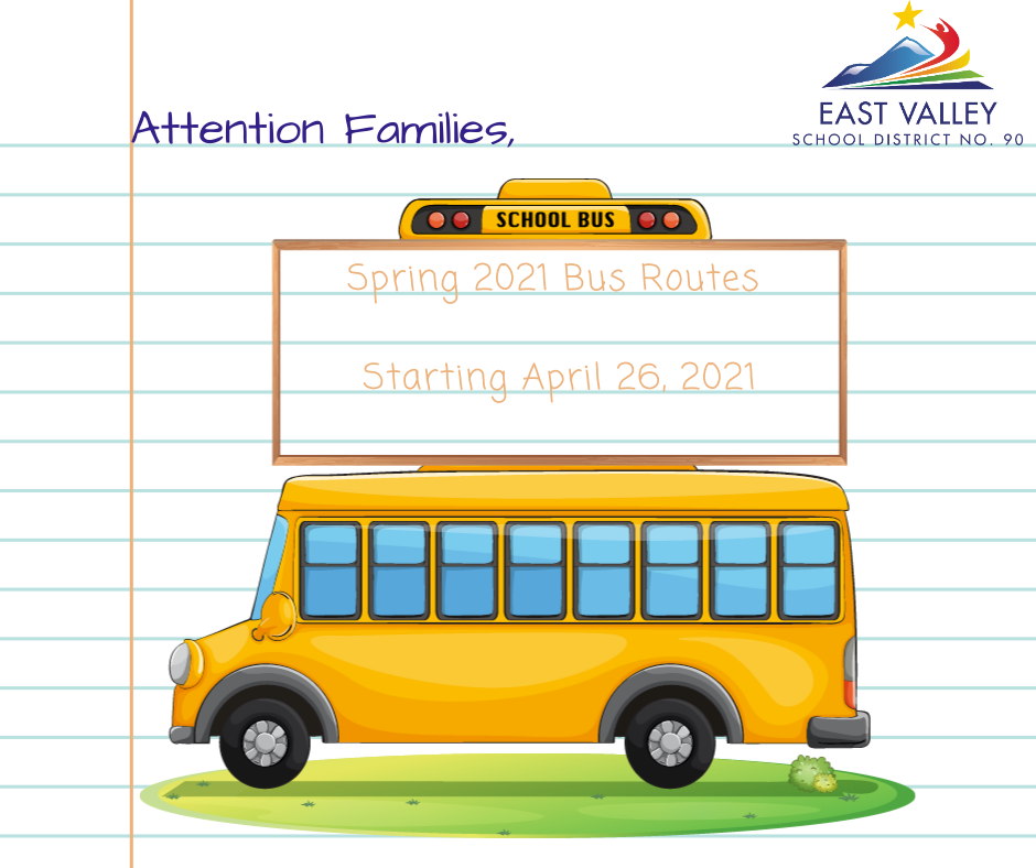 Spring 2021 Bus Routes