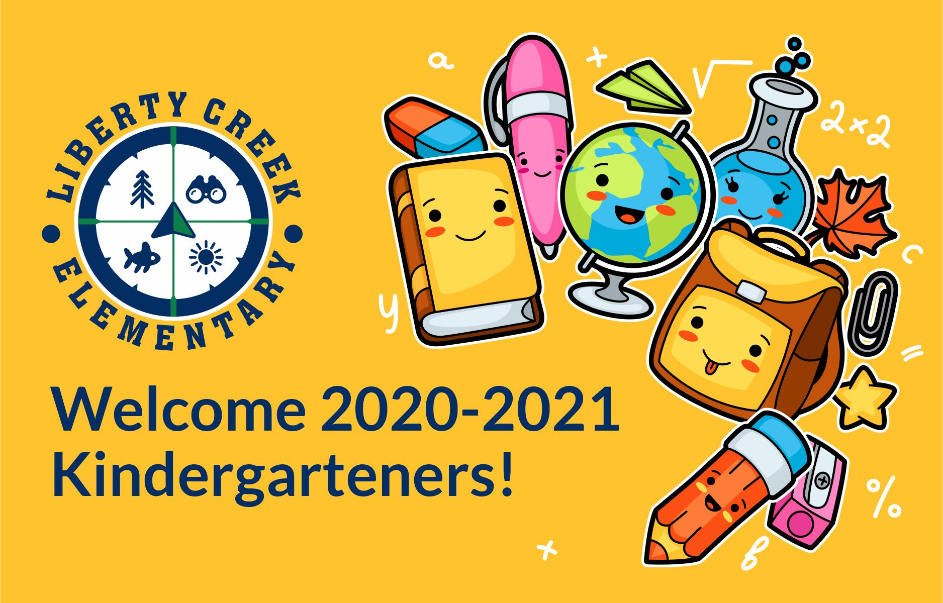 Welcome Kindergarteners