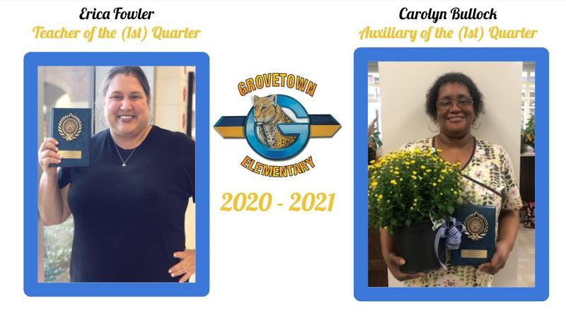 GTE's Teacher and Auxiliary Member of the First Quarter Featured Photo