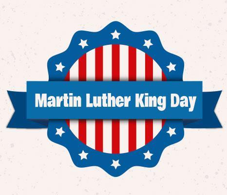 MLK day clipart