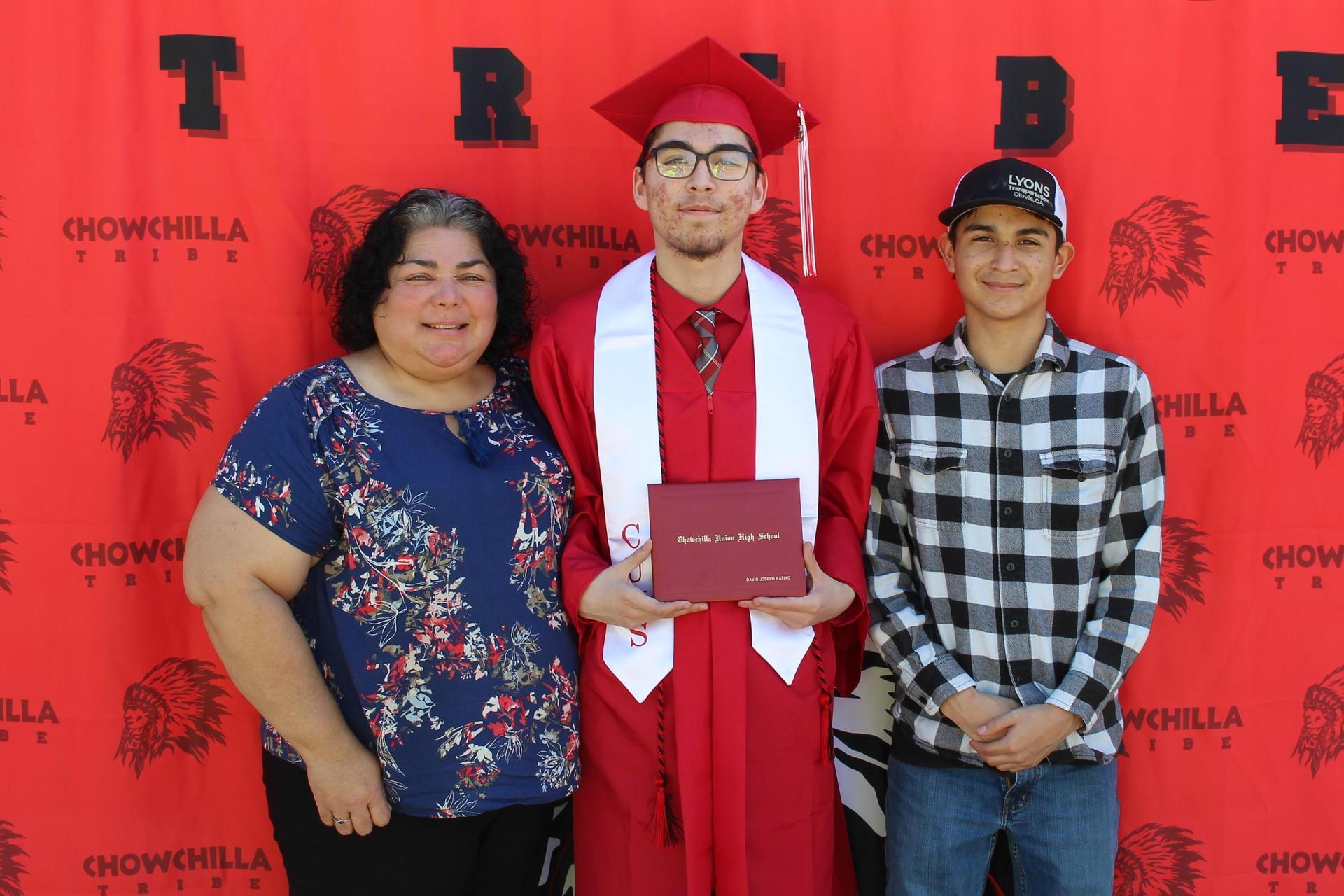 David Patino and family
