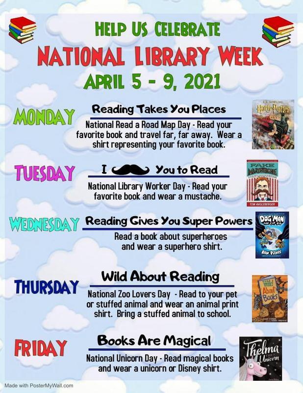 Library week activities