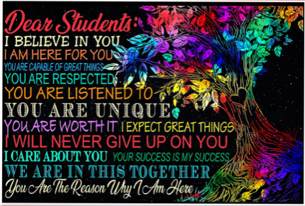 Message to Students