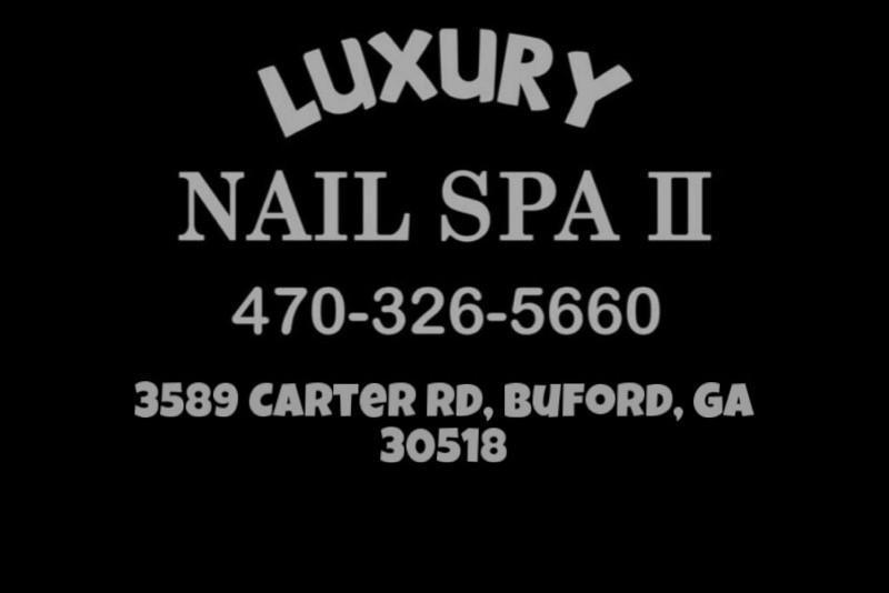 Luxury Nail Spa II logo