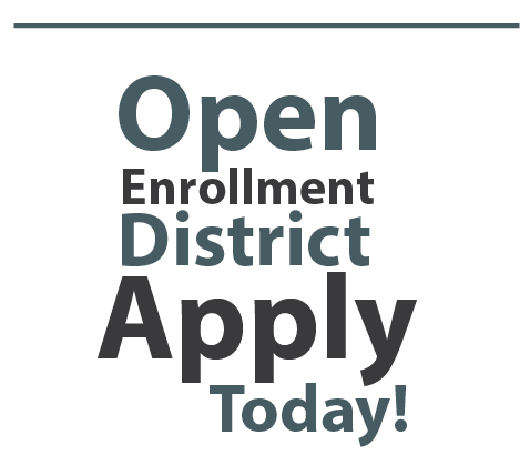 Comal ISD Open Enrollment Graphic