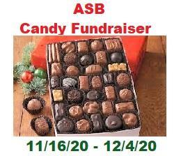ASB Candy Fundraiser!!  11/16 - 12/4 Featured Photo