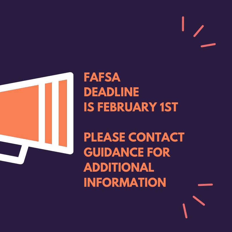 FAFSA Deadline