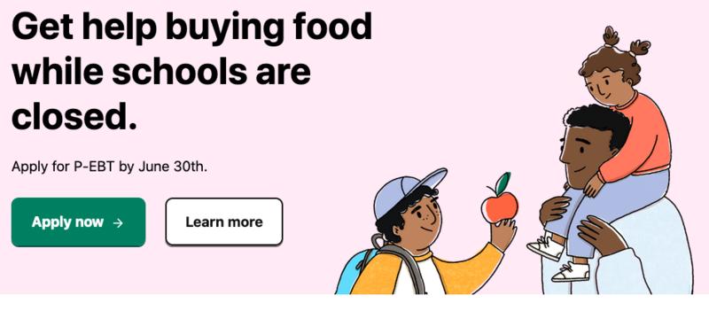 Get help buying food while schools are closed / Reciba ayuda para comprar comida mientras escuelas están cerradas Featured Photo