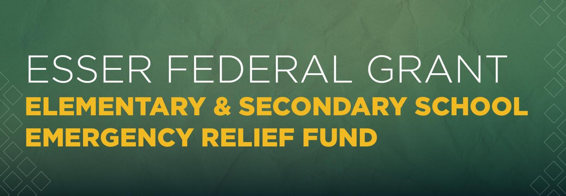 graphic for ESSER funds