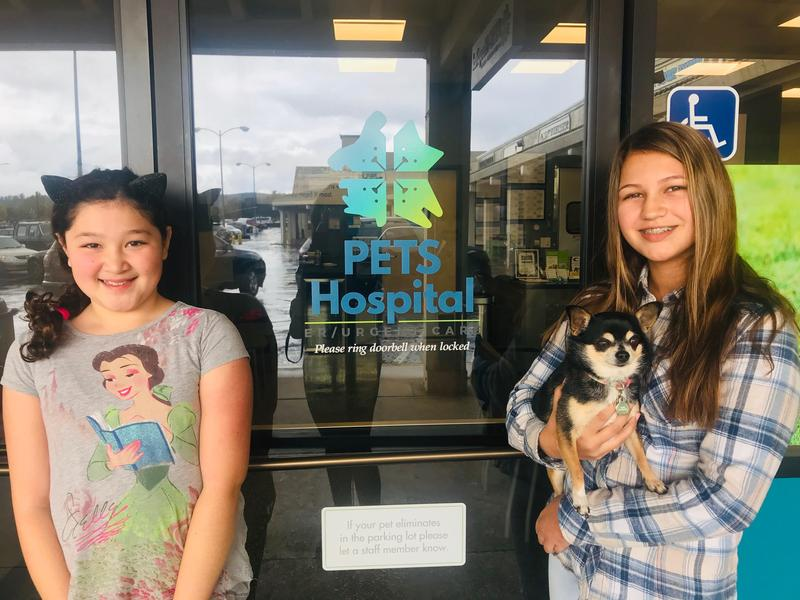 A big thanks to PETS hospital for their donation Thumbnail Image