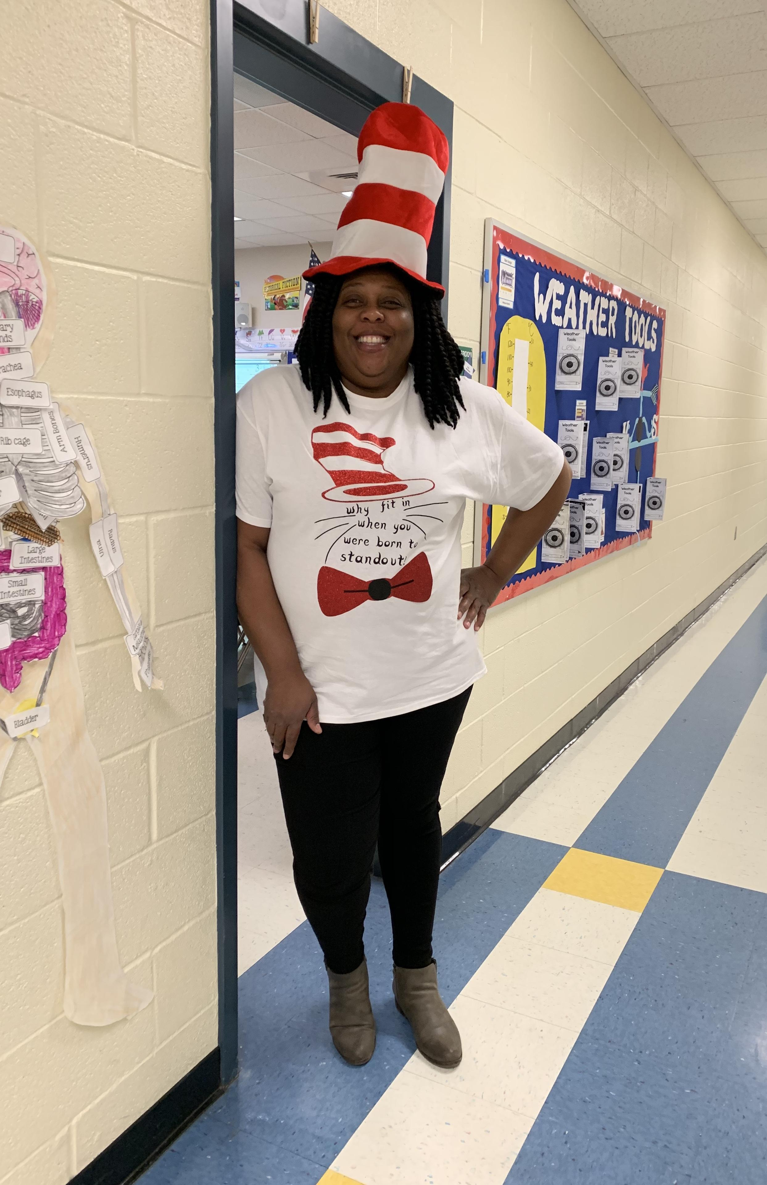 Dr. Seuss Week with Miss Conyers.