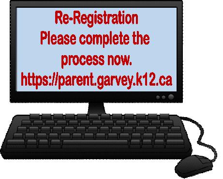Re-Registration/Reinscripción/Đăng ký lại/重新註冊 Thumbnail Image