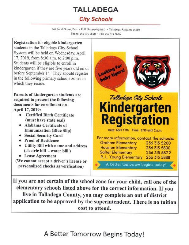 Kindergarten Sign Ups