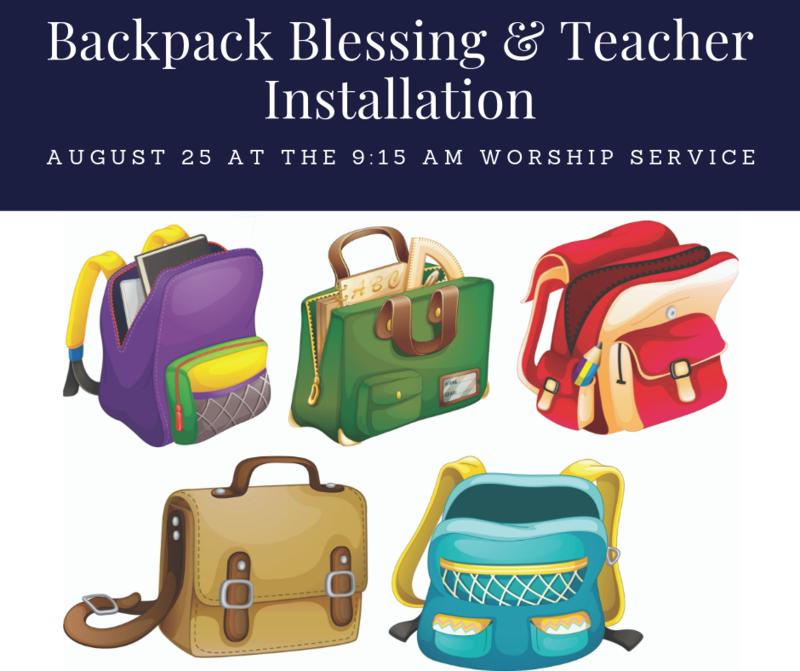 Backpack Blessing Thumbnail Image