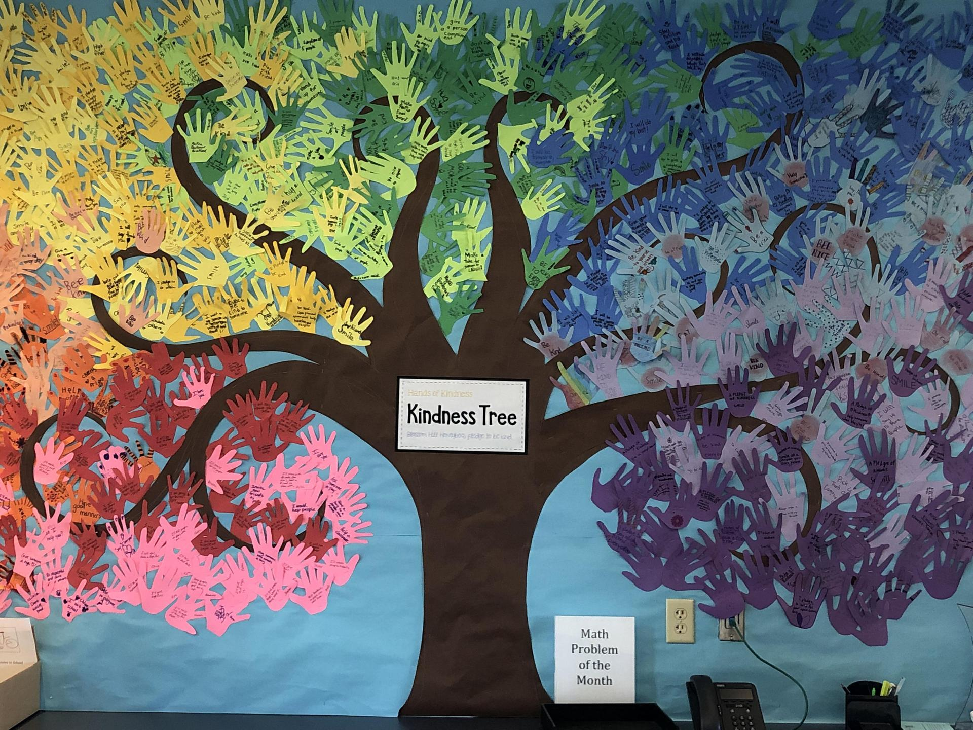 Kindness tree picture