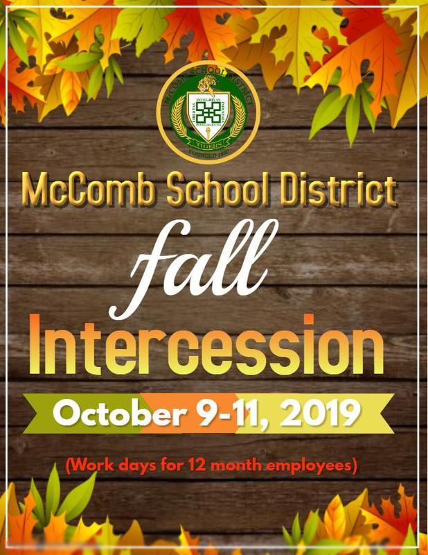 Fall Intercession News 2019