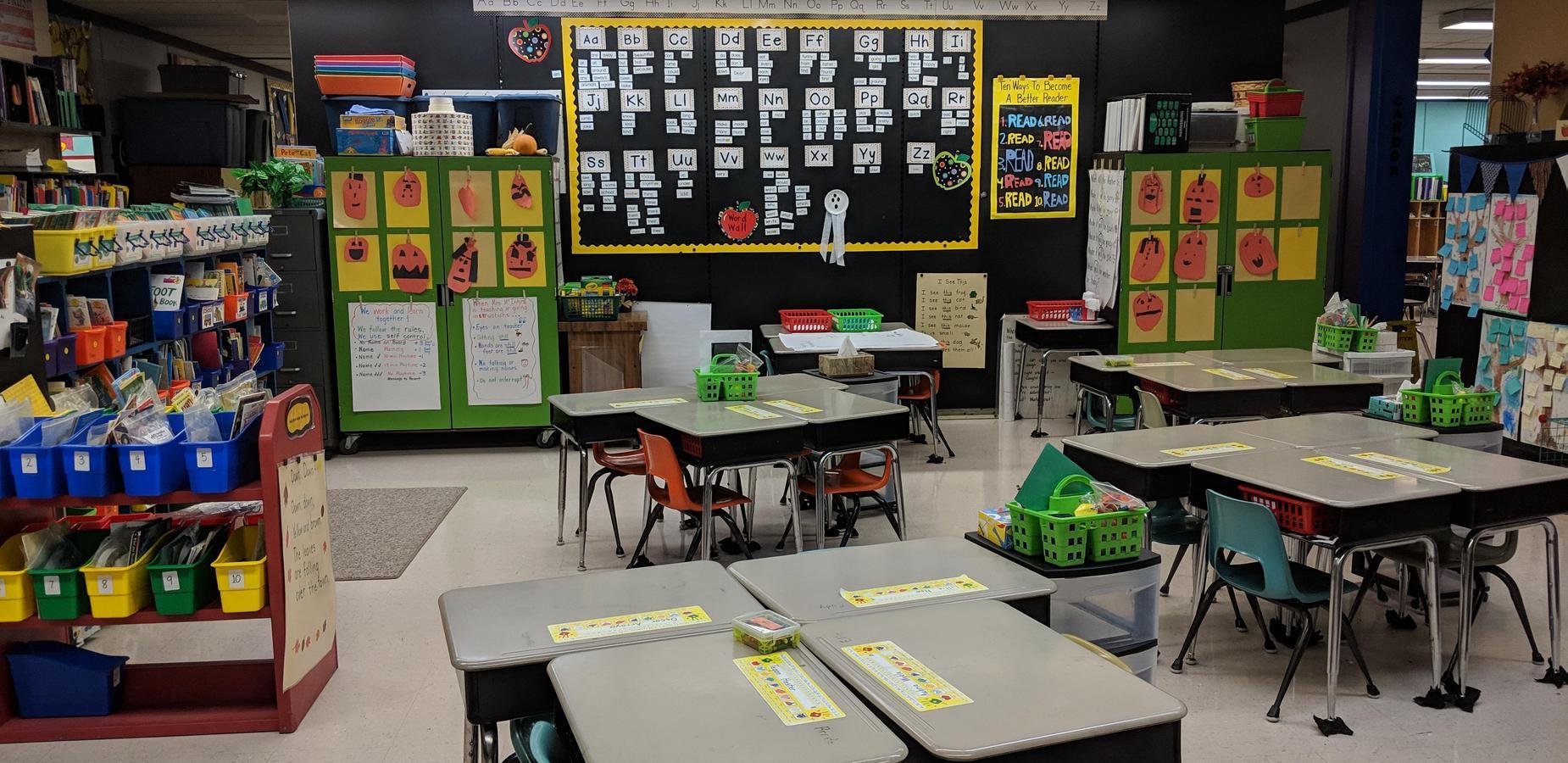 first grade room