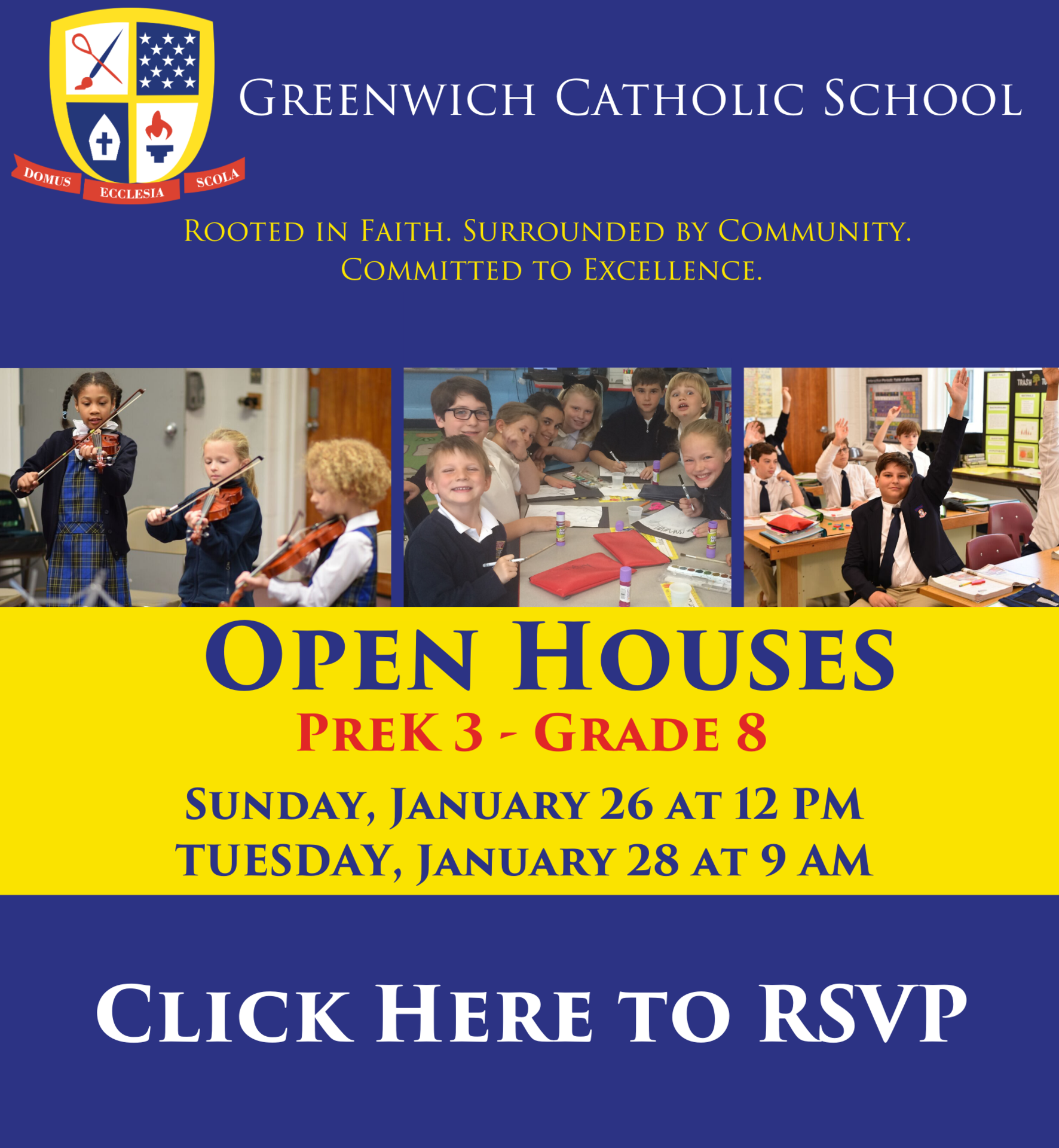 Winter Open Houses