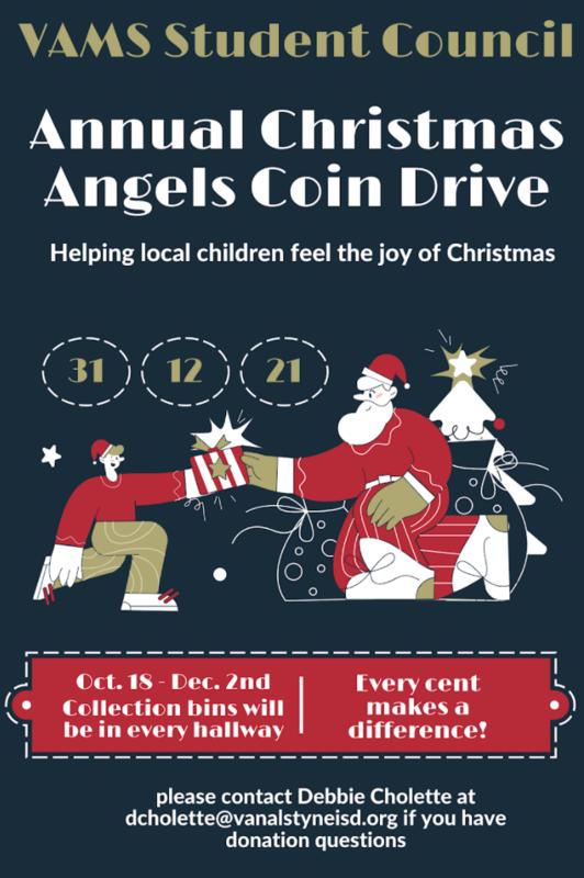 Christmas Angel Coin Drive 10/18-12/2 Thumbnail Image
