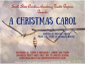 Fall Play: Christmas Carol