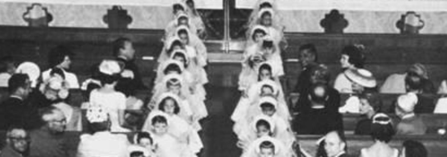 Girls School Communion