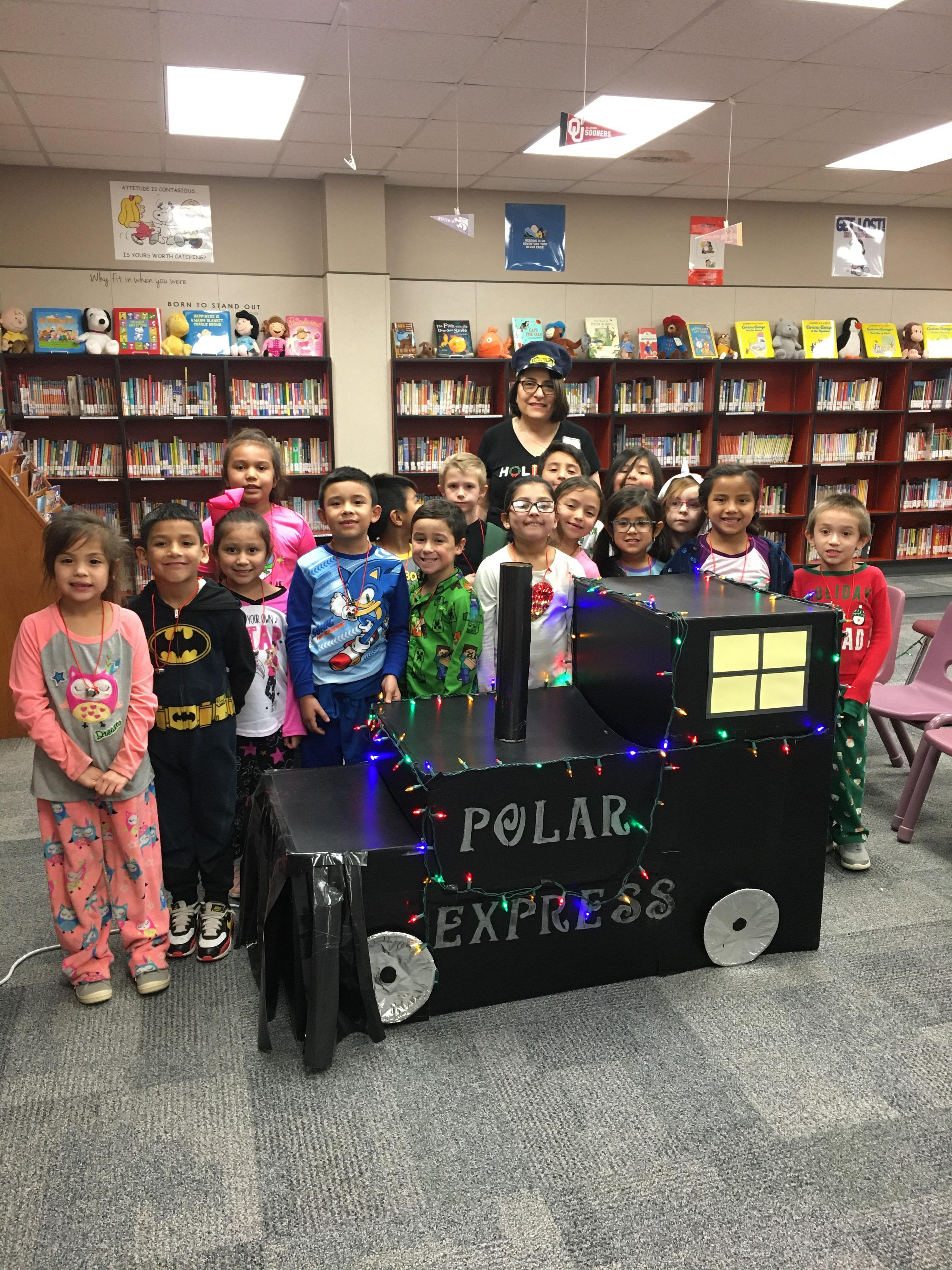 Mrs. Marquez' class at Polar Express