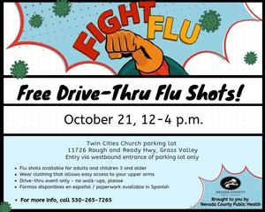 Free Drive-Thru Flu Shots