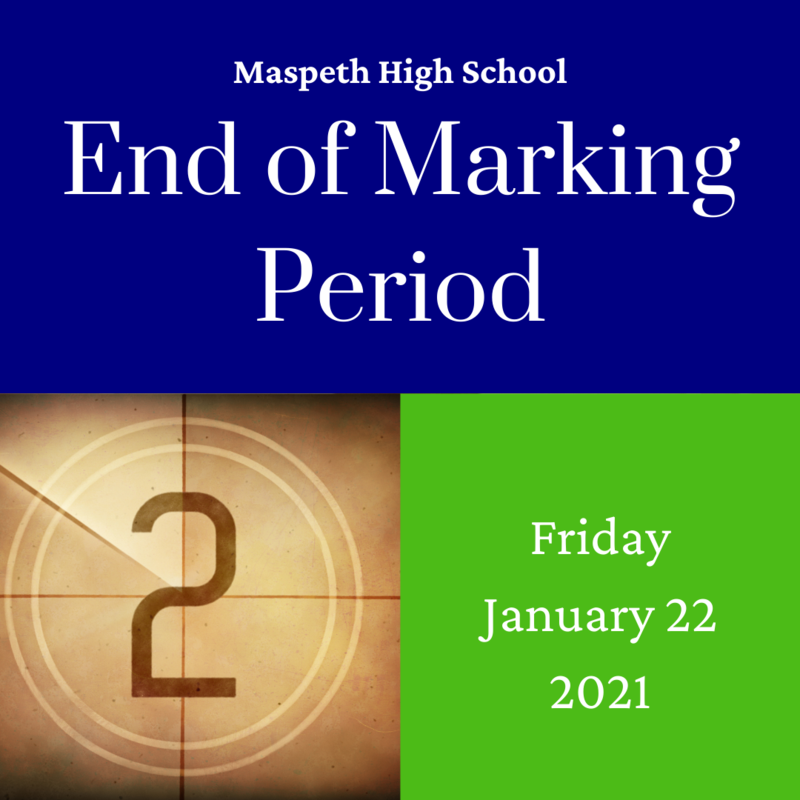 End of Marking Period 2